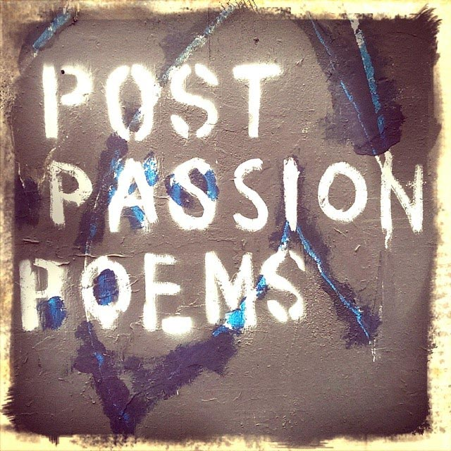 post passion poems