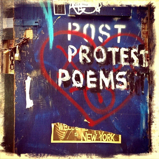 post protest poems