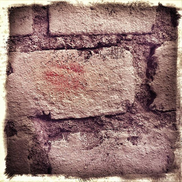 your kiss, #yourkiss, is on my bricks