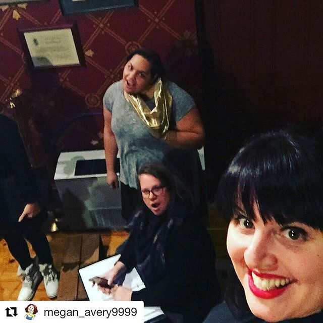 #Repost @megan_avery9999 with @repostapp・・・Almost show time. Don't we look festive? Tickets are still available for the Cantigas Women's Choir holiday concert that happens tonight at 7:30. 🌲